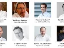 """Les grands chefs belges appellent à l'aide: """"Certains de vos restaurants préférés seront amenés à disparaître"""""""