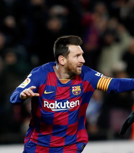 Le Barça sauvé par Messi pour la première de Setién