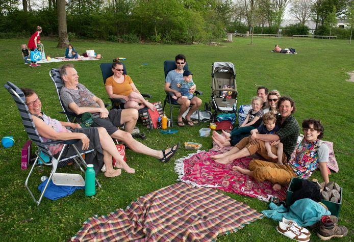 Eindelijk een paar uur voorjaargevoel bij recreatieplas de Meent in Beusichem