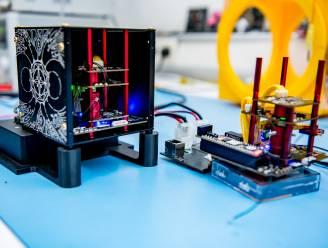 """Magnetometer van UHasselt gaat de ruimte in: """"Fantastisch dat mijn kunstwerk mee mag naar ruimtestation ISS"""""""