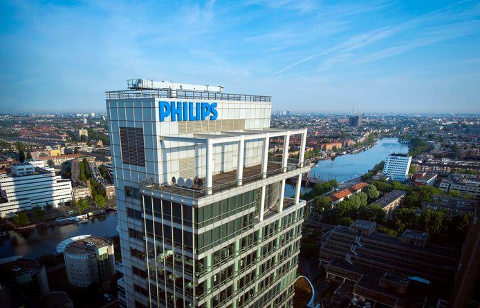 Hoofdkantoor Philips in Amsterdam.