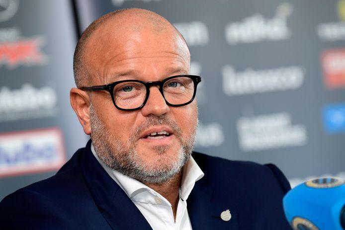 Bart Verhaeghe, voorzitter van Club Brugge.