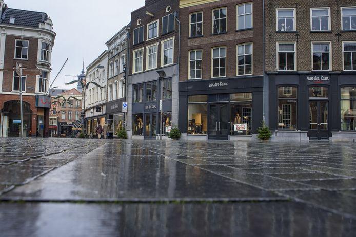 De binnenstad van Zutphen. Een eerste herstelplan voor de ondernemers hier ligt klaar.