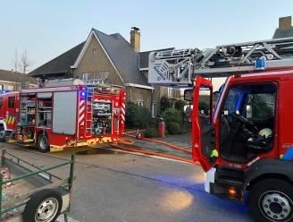 Brand in bijgebouw van woning
