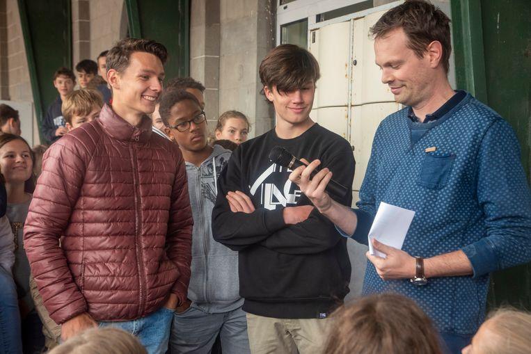 Thomas Dejaeghere en Jonathan De Smet kwamen met het idee op de proppen.
