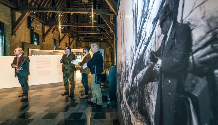Net voor de coronacrisis werd nog een tijdelijke tentoonstelling rond de heropbouw na WO I geopend.