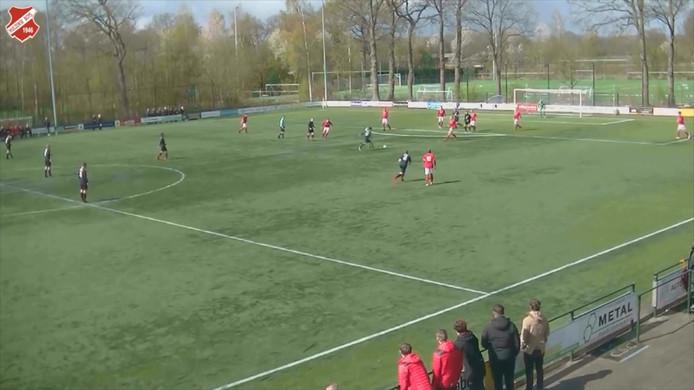 Een fantastische goal bij Hulzensche Boys - Be Quick '28
