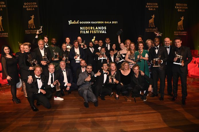 Alle winnaars van het Gouden Kalveren Gala.