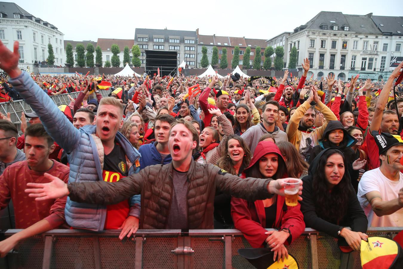 Samengepakt onze Rode Duivels richting de overwinning joelen, zal er waarschijnlijk niet inzitten, maar een groot scherm in de Gentse binnenstad tijdens het EK lijkt voorlopig niet uitgesloten.