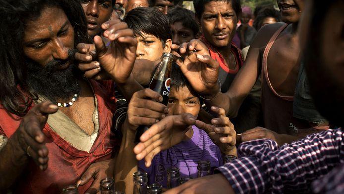 Een derde van de Indiërs leeft onder de armoedegrens.