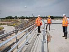 Gloednieuwe weg bij Oosterhout bijna klaar: nog een paar weken