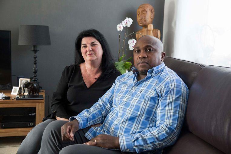 Peggy Verluyten en haar man Jean-Jacques Uijtdebroeks, die nooit meer volledig zal herstellen van zijn verwondingen.