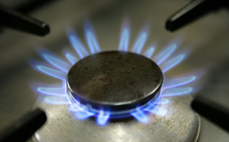 Brandende gaspit op een fornuis. Beeld ANP