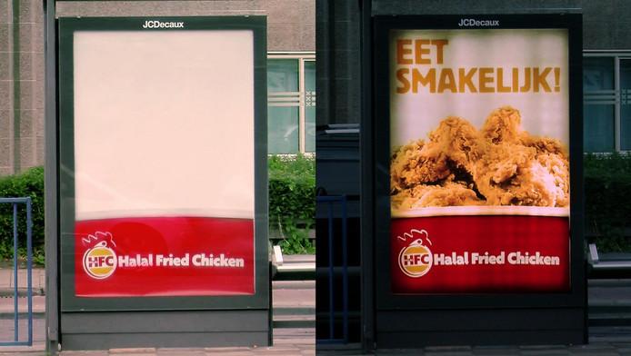 Bij Halal Fried Chicken verschijnt het gefrituurde gevogelte pas na zonsondergang.