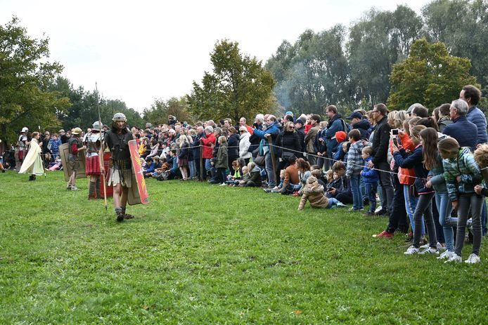 Weer geen Gallo-Romeins weekend in Wervik omwille van corona. De vorige editie was in oktober 2019