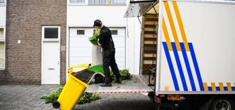 Politie valt Alphense woning binnen en vindt wietkwekerij
