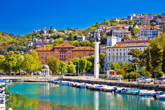 Rijeka, Croatie.