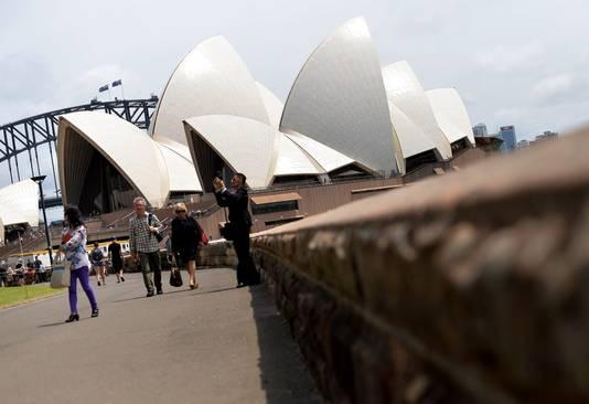 Het operagebouw in Sydney