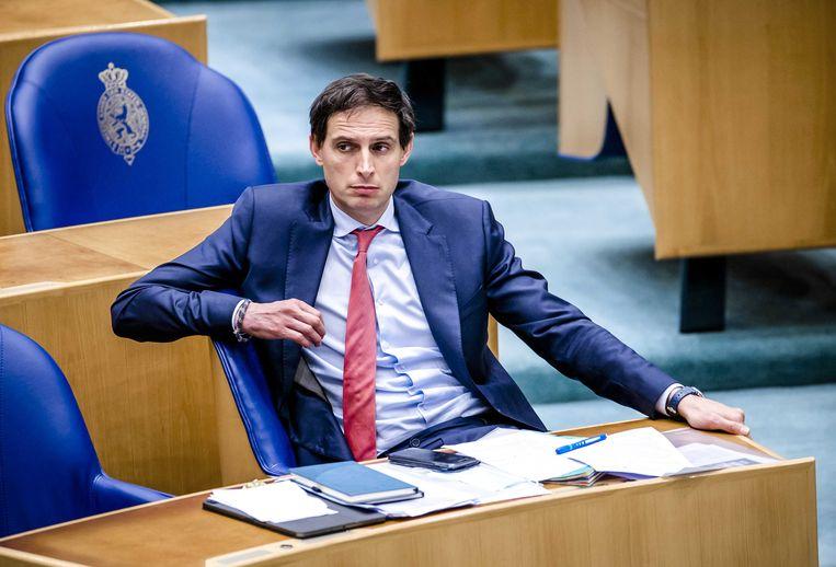 Wopke Hoekstra werd laat lijsttrekker, veranderde het thema van de campagne en verloor. Beeld ANP