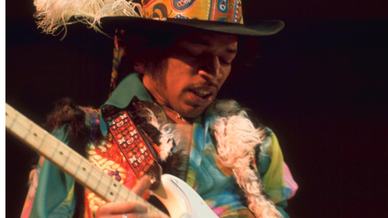 Jimi Hendrix. Beeld rv