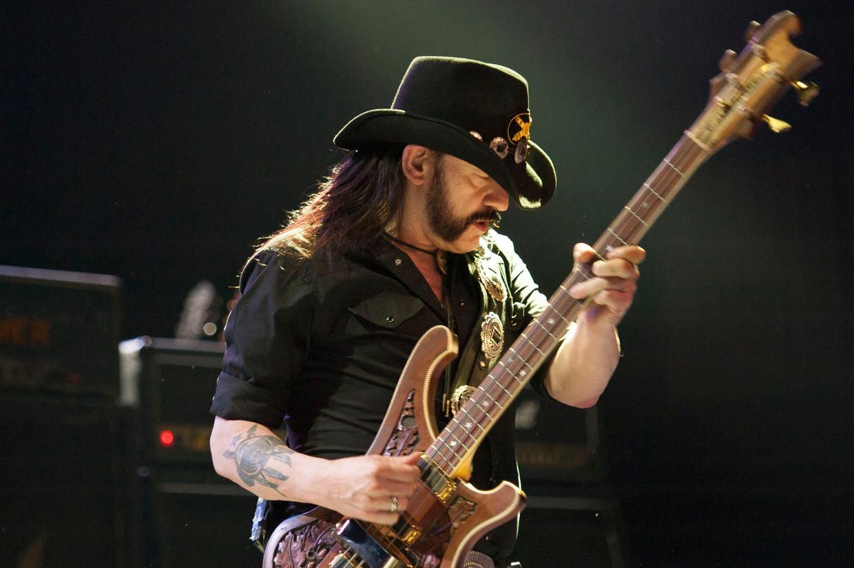 Lemmy Kilmister van Motörhead. Beeld Photo News
