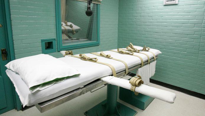 Salle d'exécution de la prison de Huntsville (Texas, archives)