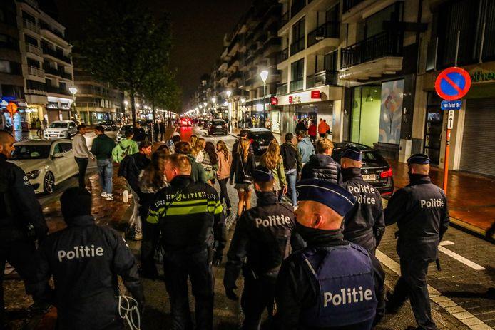Ook vorige zomer werkten de Belgische en Nederlandse politie al samen in Knokke-Heist.