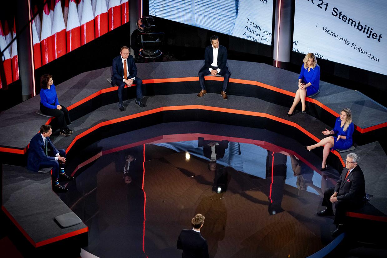 Dinsdag was er een verkiezingsdebat speciaal voor de kleine partijen Beeld ANP