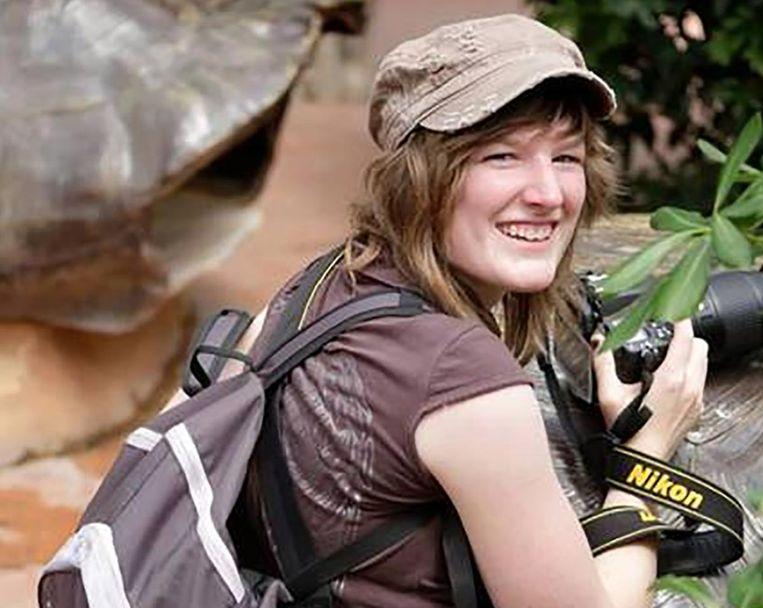 De Belgische Davine werd in februari ontvoerd tijdens haar rondreis in Australië. Beeld Kos