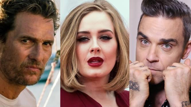 Adele hoort vreemde geluiden en Robbie Williams slaapt niet meer: deze sterren en beroemdheden zien spoken