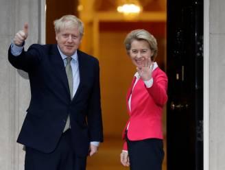 Tijd dringt voor een akkoord: Boris Johnson praat deze week met Von der Leyen over brexit