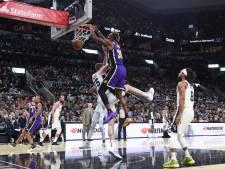 Les Lakers virent en tête à l'Ouest