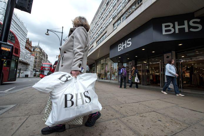 De Britse keten BHS is onlangs failliet gegaan. IKEA aast op een paar panden.