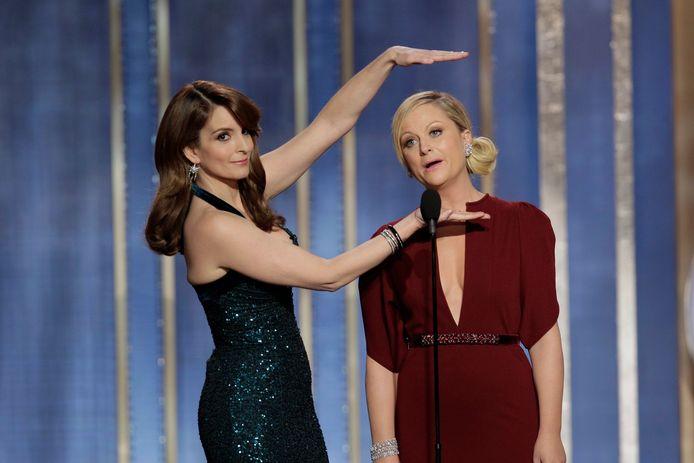 Tina Fey (links) en Amy Poehler.