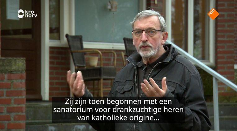 Pater Paul Schreur, van de Orde der Camillianen in Passionstad Roermond. Beeld