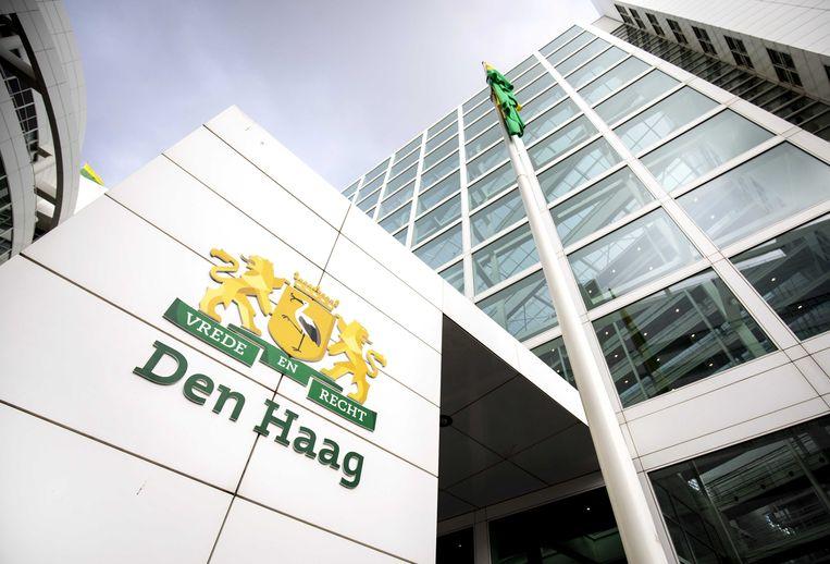 Het stadhuis in Den Haag Beeld ANP