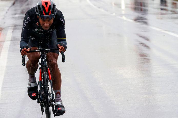 Jhonatan Narvaez won de twaalfde rit in de Giro met aankomst in Cesenatico.