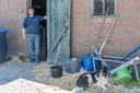 Iman Minnaard laat de deur van zijn stal altijd open, zodat zwaluwen ongehinderd in en uit kunnen vliegen.