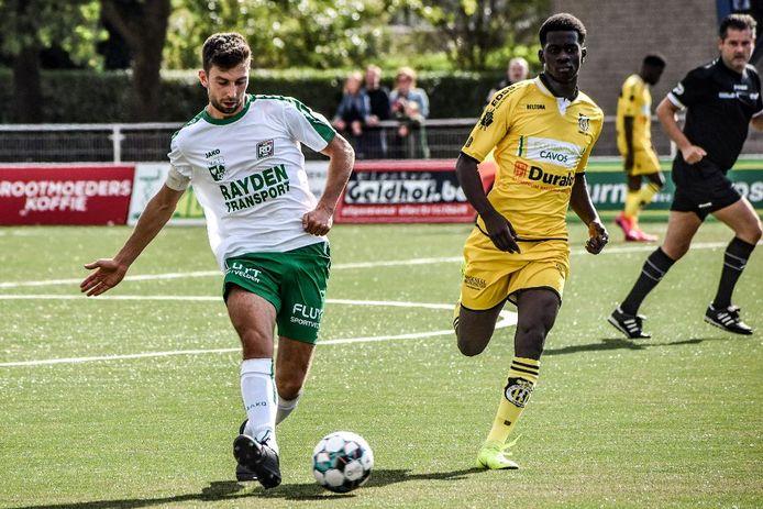 Als het van kapitein Joren Loockx (l.) afhangt, moet SC Aarschot nog een weekje wachten op zijn eerste punten.