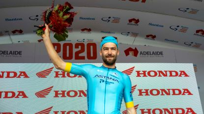 Laurens De Vreese verlaat Tour Down Under na valpartij