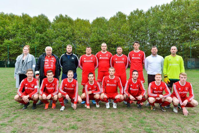 De kampioenploeg in de zondagcompetitie van eerste provinciale bij Vlaanderens Liefhebbers Voetbalbond (VLVB).