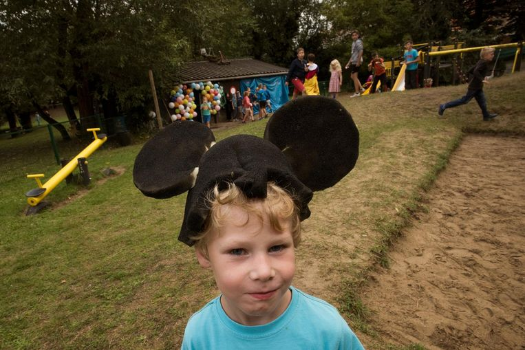 Mickey Mouse was uiteraard ook van de partij.