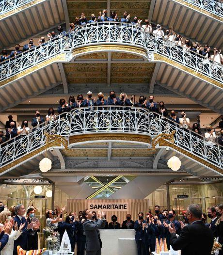 Iconisch warenhuis Parijs na zestien jaar renoveren eindelijk weer open