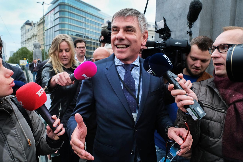 Vlaams Belang-kopstuk Filip Dewinter. Beeld Tim Dirven