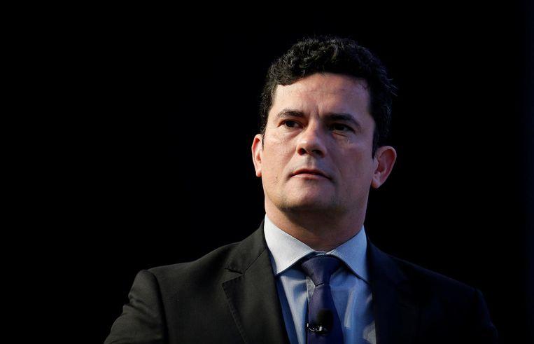 Rechter in de Lava Jato-zaak, Sergio Moro. Beeld Reuters