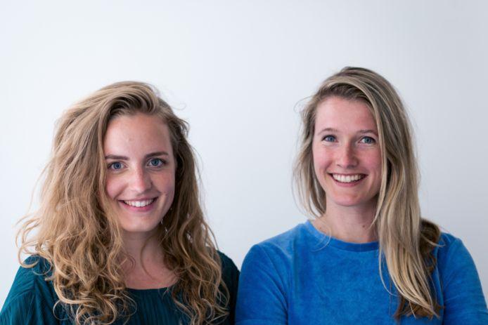 Mirjam de Bruijn (links) en Ilse Kwaaitaal