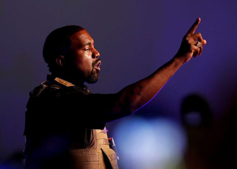 Kanye West. Beeld REUTERS