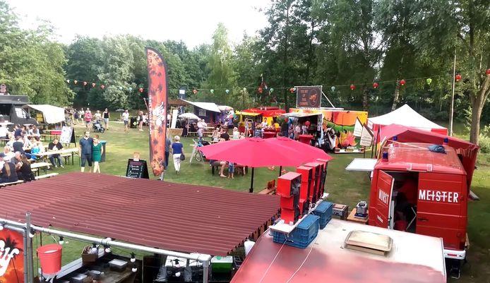 Een eerdere editie van het Foodtruck Festival in Braamt.