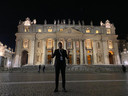 Dotan voor de Sint-Pieterbasiliek in Vaticaanstad.