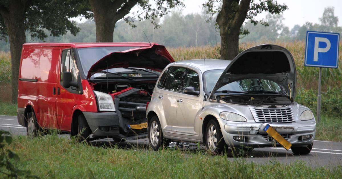 Opnieuw file op N35 door ongeluk bij Raalte.
